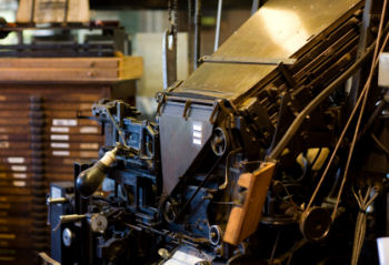 Linotype / Intertype casting machine
