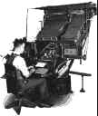 Linotype Operator Photograph