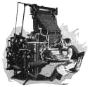 Linotype Operator Drawing