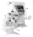 X-ray View of a Linotype